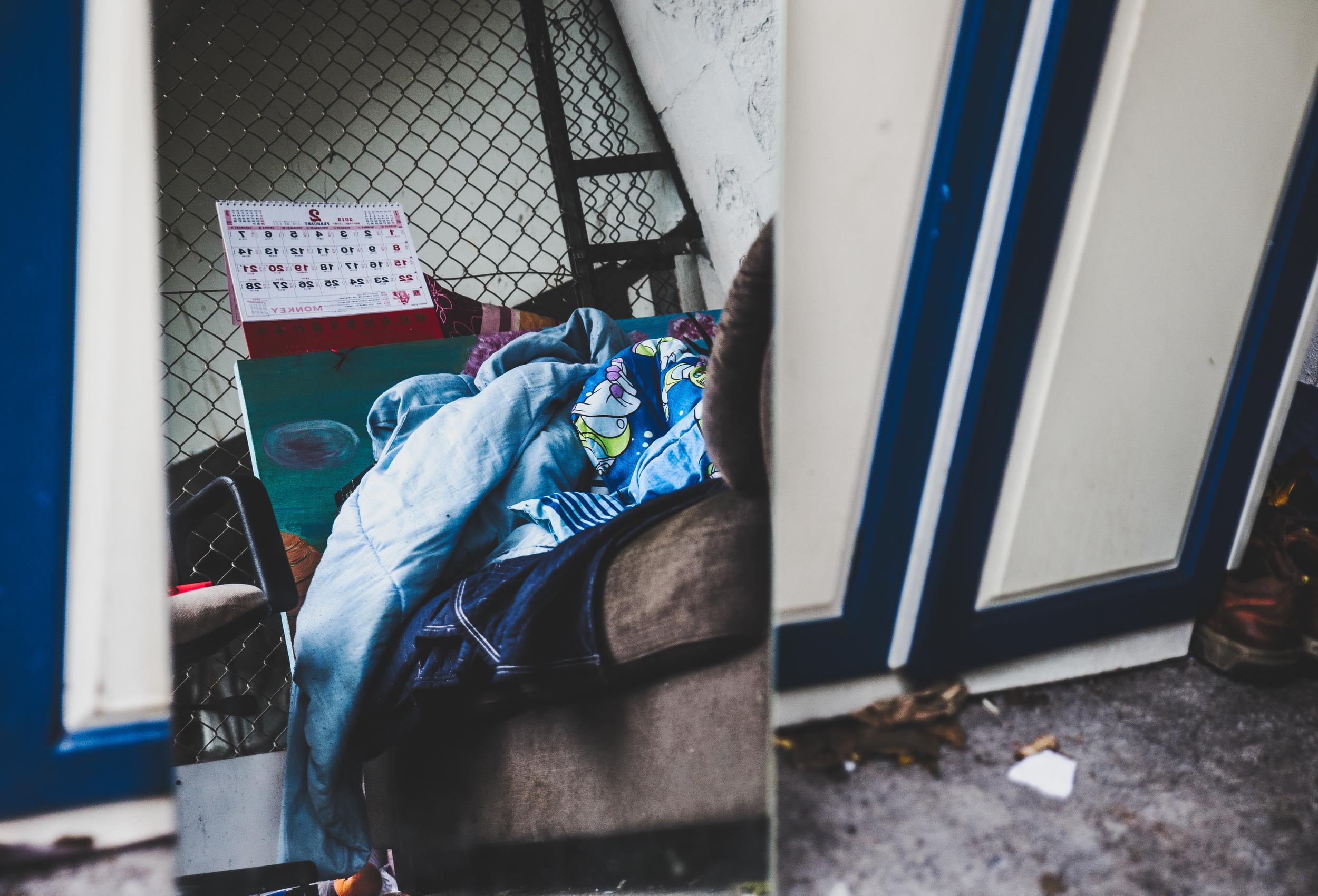 ホームレスの影