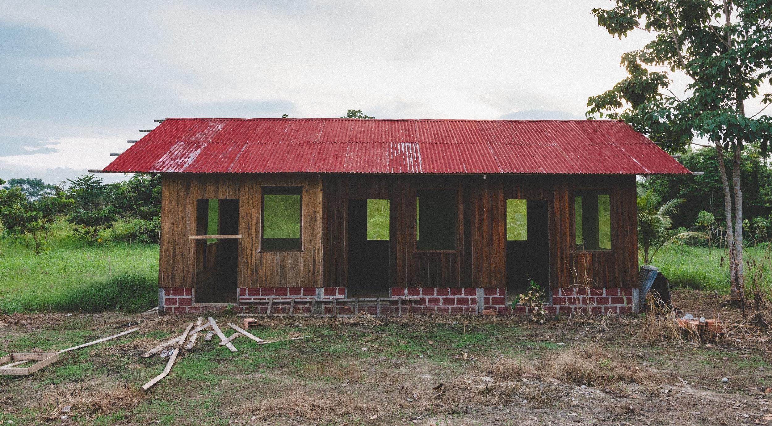 Las construcciones de un nuevo hogar