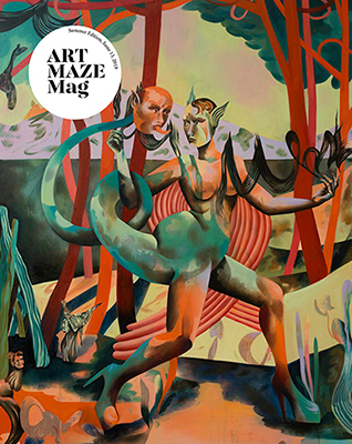 ArtMaze Magazine   Summer Issue 13 Curated selection by Chris Sharp Cover:  Jessie Makinson