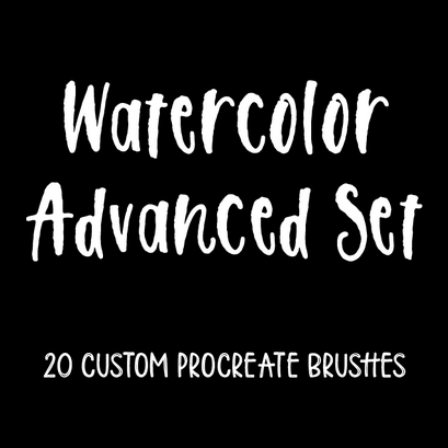 Watercolor Advanced Set    by ipadlettering.com