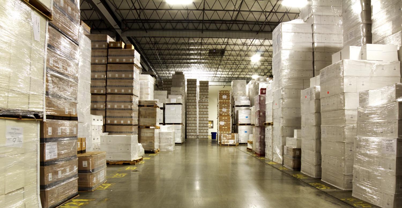 over 9 acres of storage