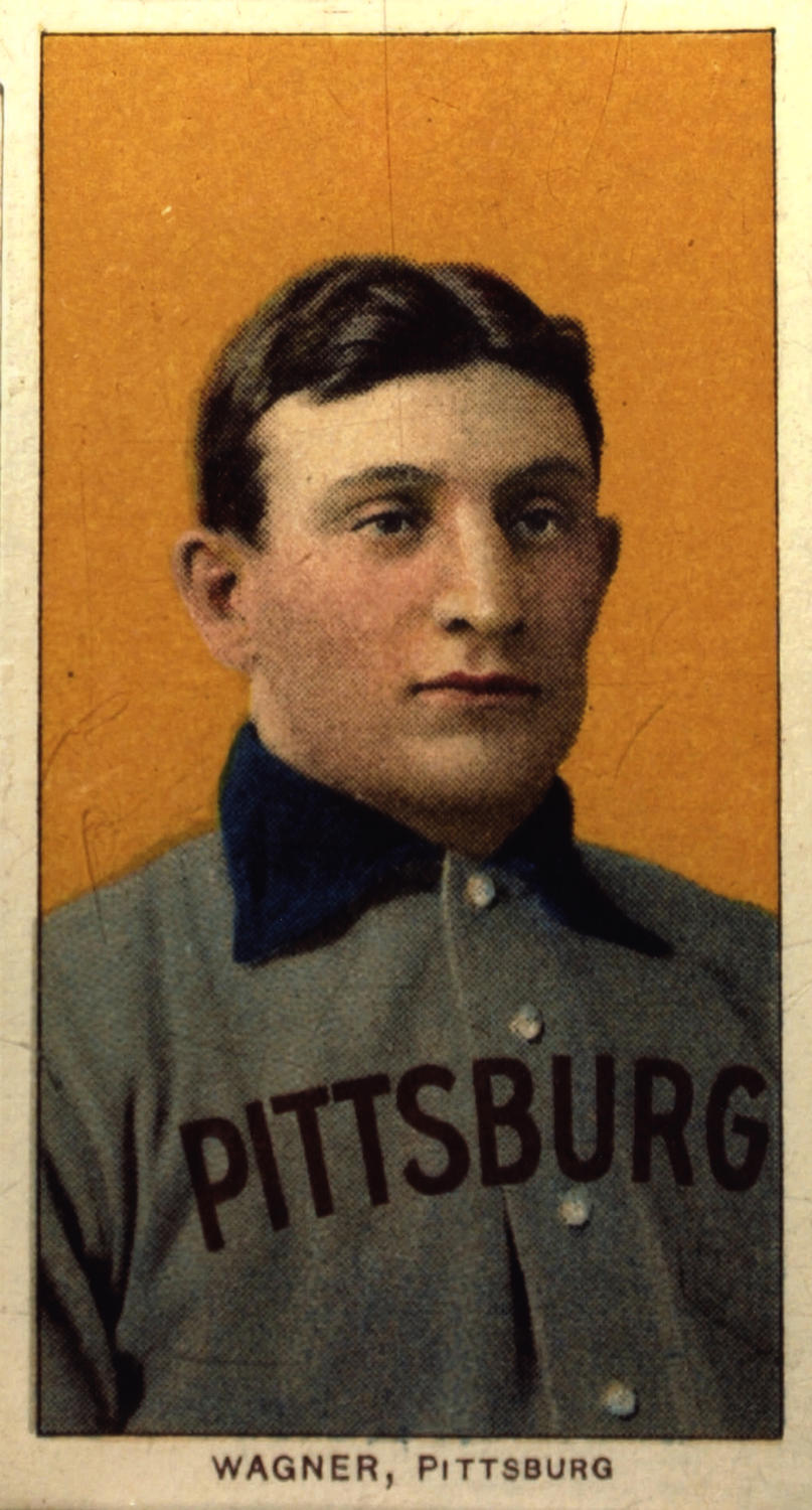 This Honus Wagner baseball card sold for 2.1 Million in 2013