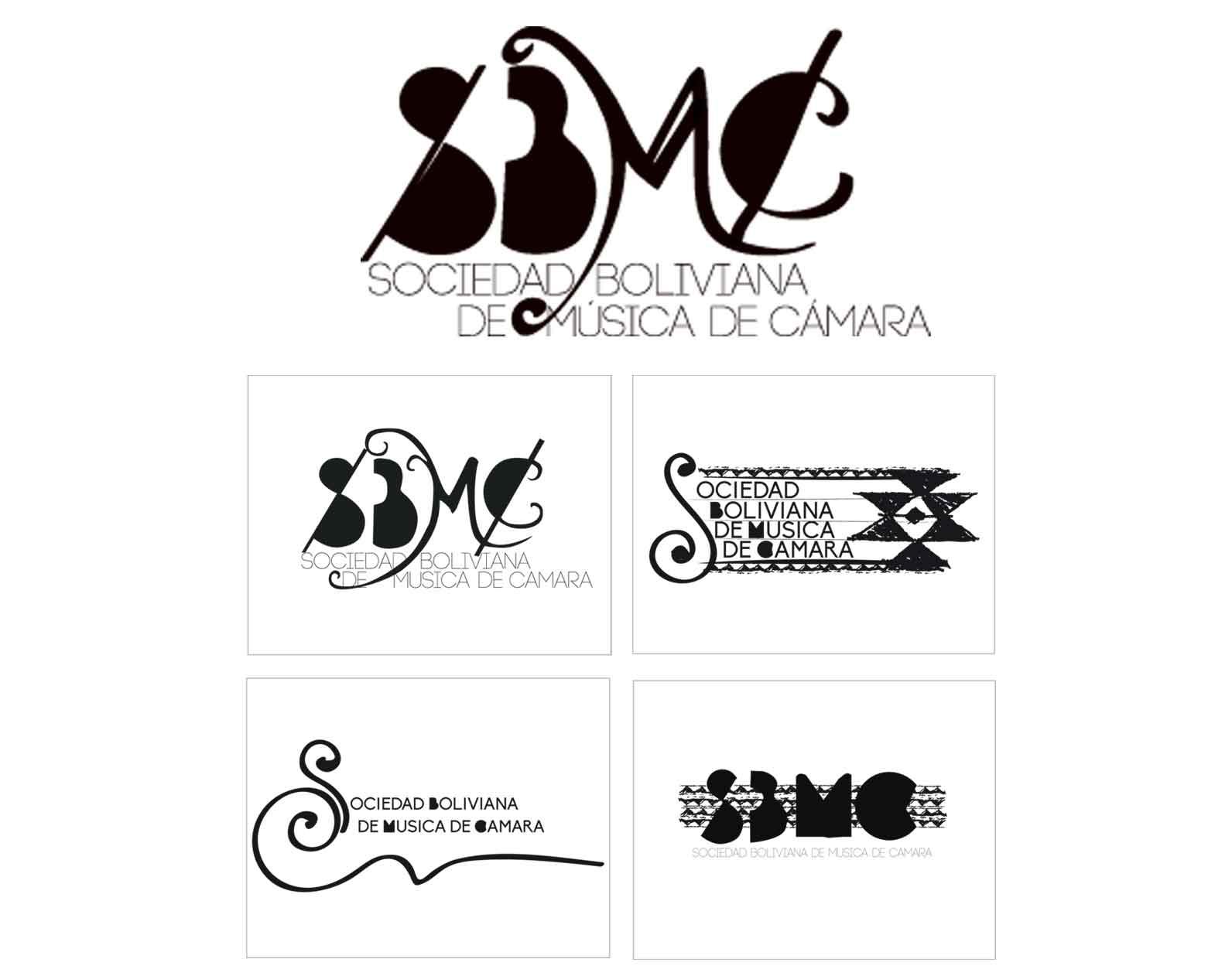 Logo for Sociedad Boliviana de Música de Cámara, Bolivian Chamber Music Society