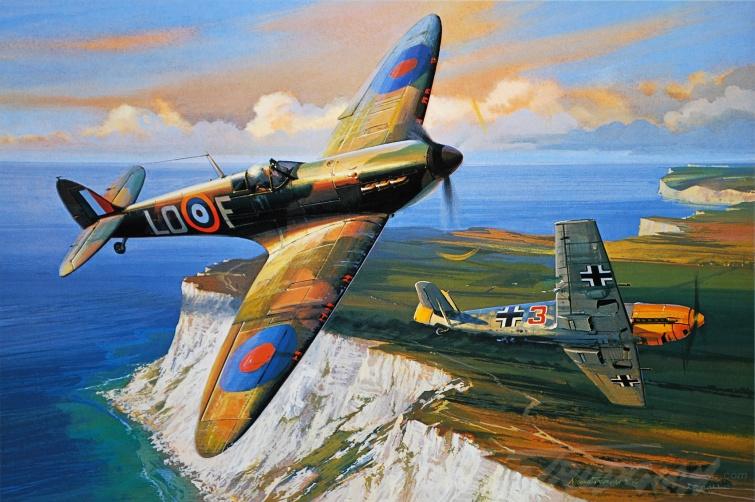 Spitfire vs BF-109