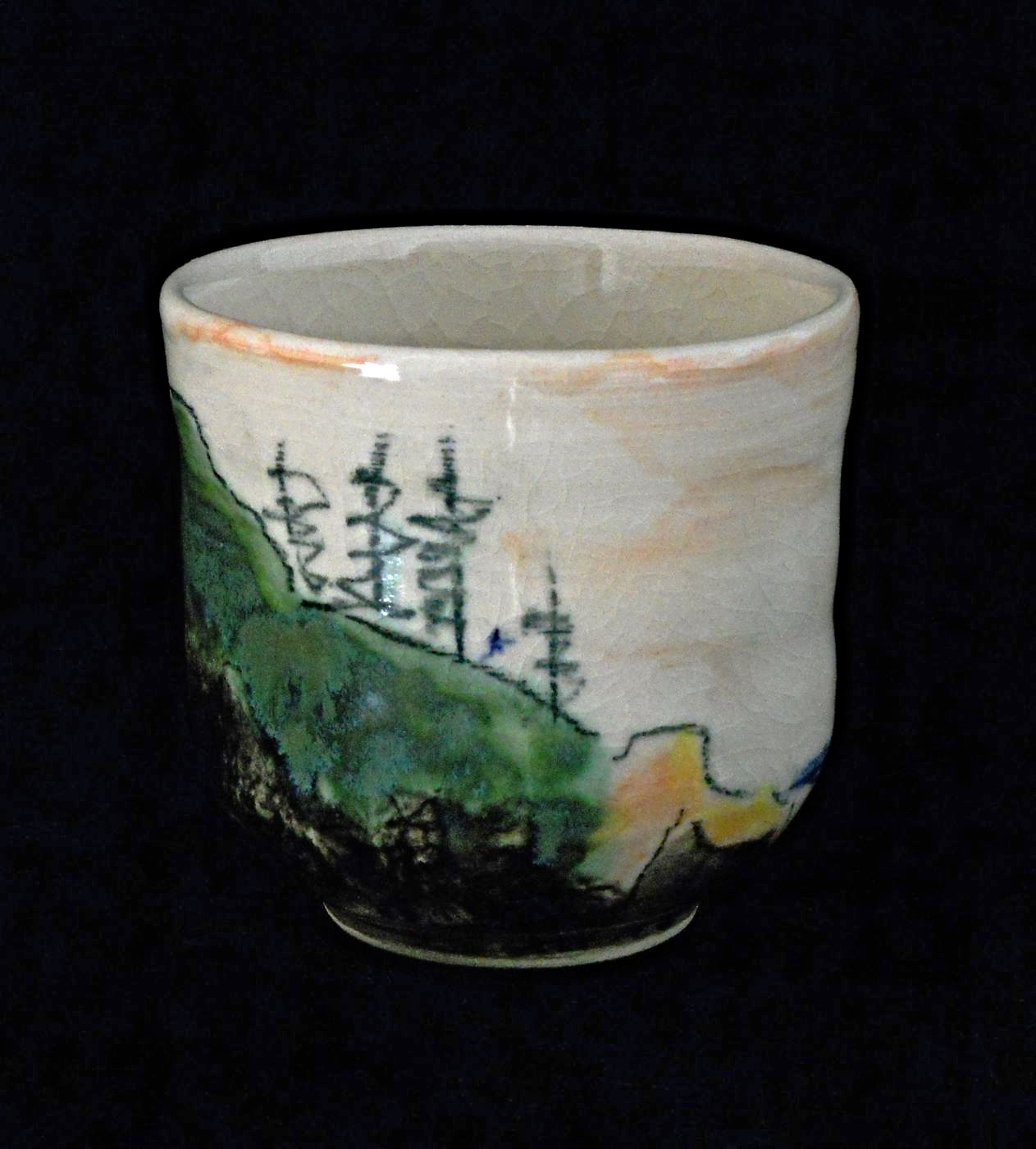 SMALL CUP - A North West Landscape.