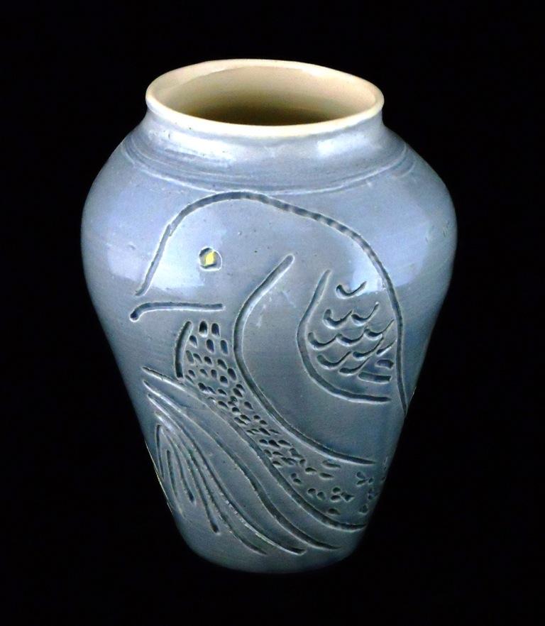 Raven Vase