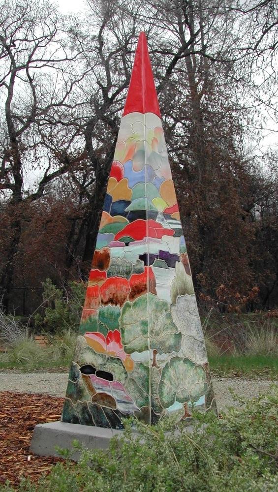 7 foot high Pyramid
