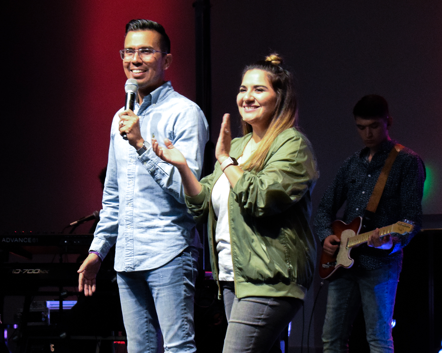 Abram & Rebecca Gomez - Executive PastorsAbram Gomez is the Executive Pastor at Cross Church in San Benito, TX. He serves under the leadership of Bishop Jaime Loya and helps in leading over 3000-member congregation.In 2006, Abram joined the team and staff at Cross Church formally known as VICC and began to serve as the Senior Youth Pastor. Under his leadership, the youth ministry flourished going from a group of 15 teens to more than 300 being served on a weekly basis through student services and outreach. At this time, he and his wife, Rebecca Gomez, are also the Campus Pastors for our McAllen Campus which we have seen hundreds of people being impacted by the impactful preaching and excellence in leadership.Abram has served in other various roles such a Church Planting, Pastoral Preaching Team, and Administrator to name a few, and has helped to create church systems and structure to accommodate the growth.He and his wife, Rebecca, reside in Harlingen along with their precious daughter Isabella and son Jude.