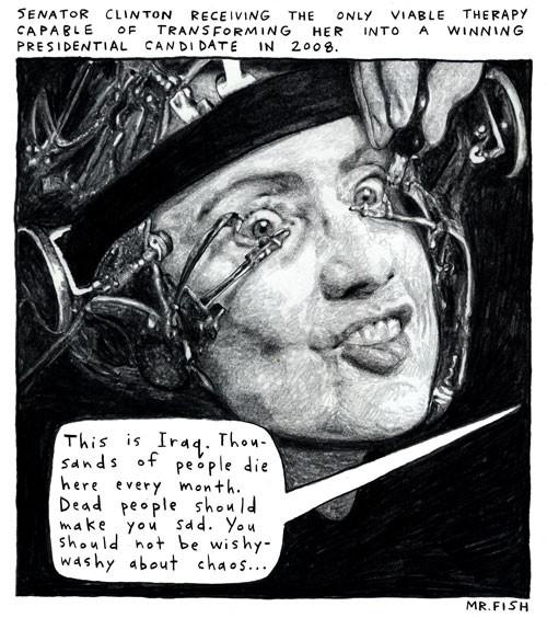 Clockwork Hillary