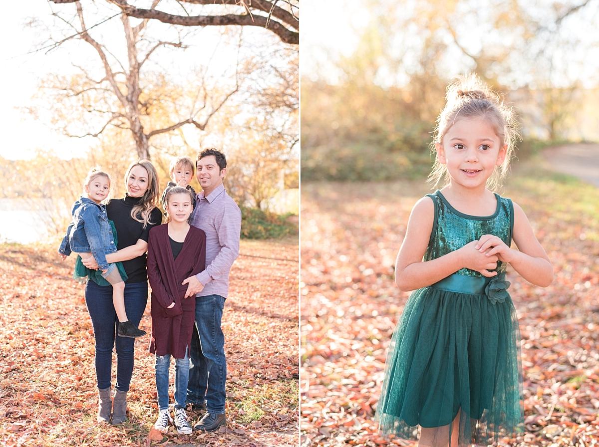 The Manteiga Family! I love Daisy's dress!