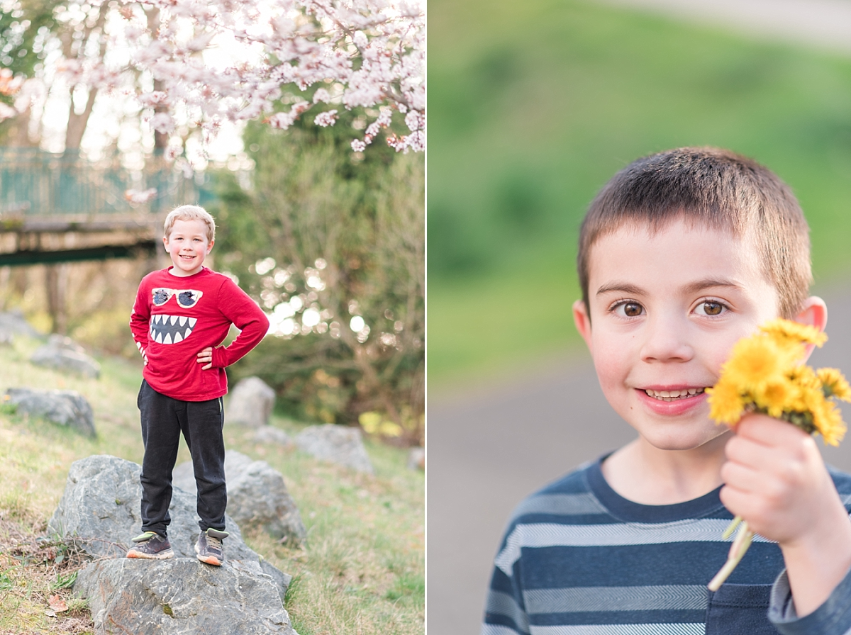 I couldn't believe how grown up Grayson is becoming! All our kiddos are just growing up way too fast…
