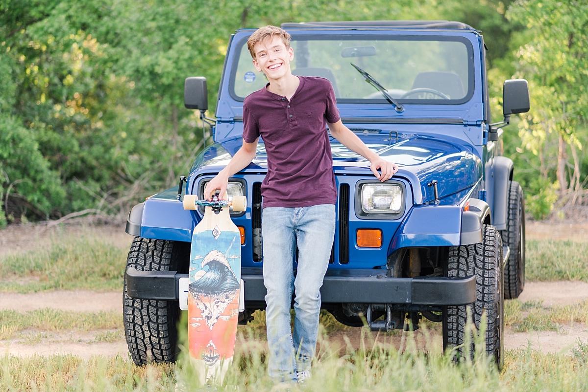 anderson river park senior graduate 2019 longboarder blue jeep_0264.jpg