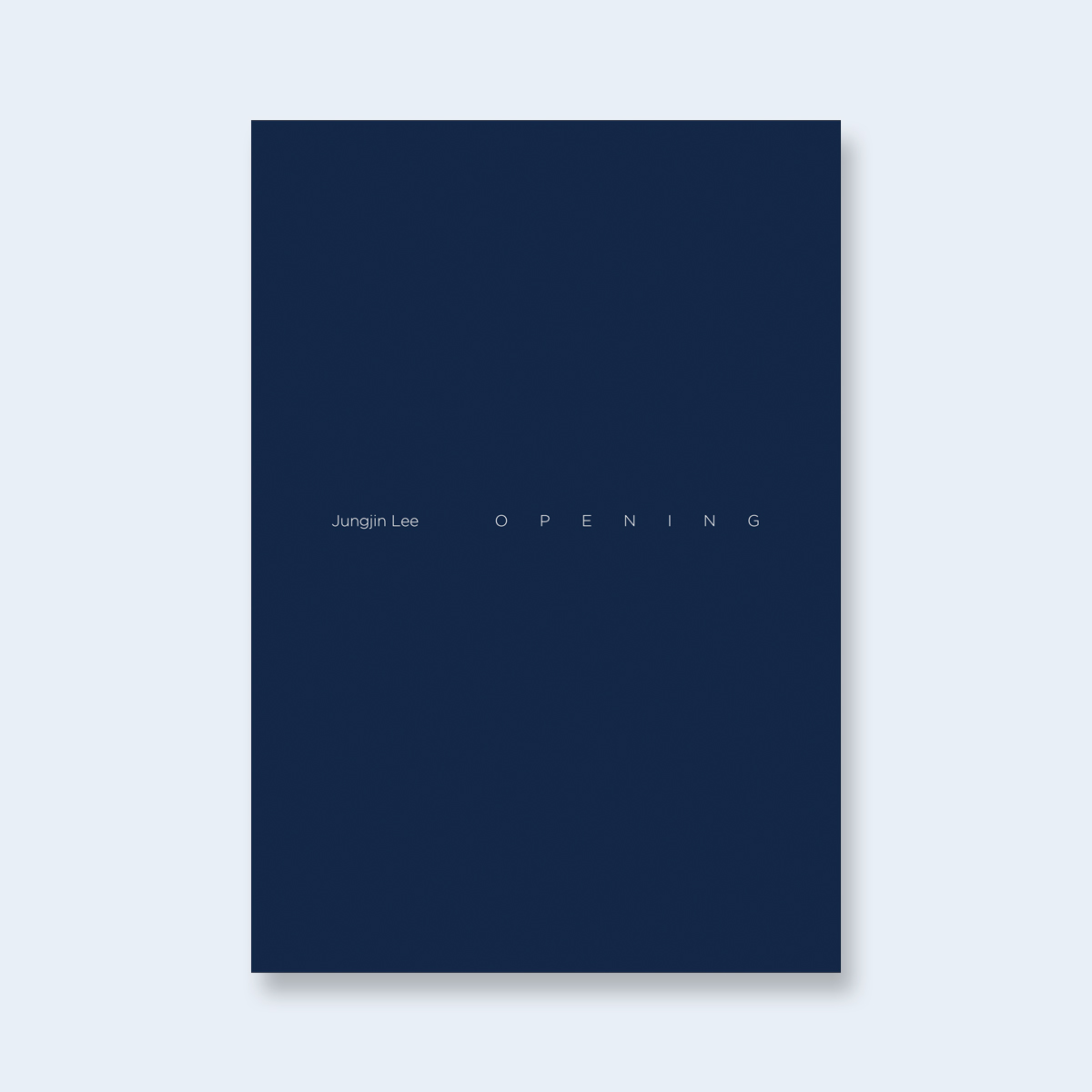 JUNGJIN LEE |    Opening (Special Edition)  |  Order >