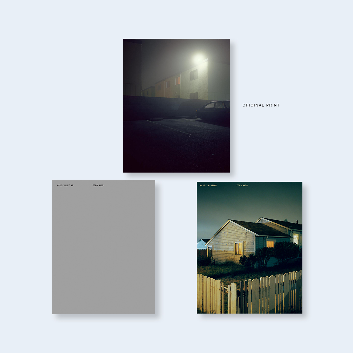 TODD HIDO | House Hunting (Deluxe Edition with Original Signed Print) |  Order >