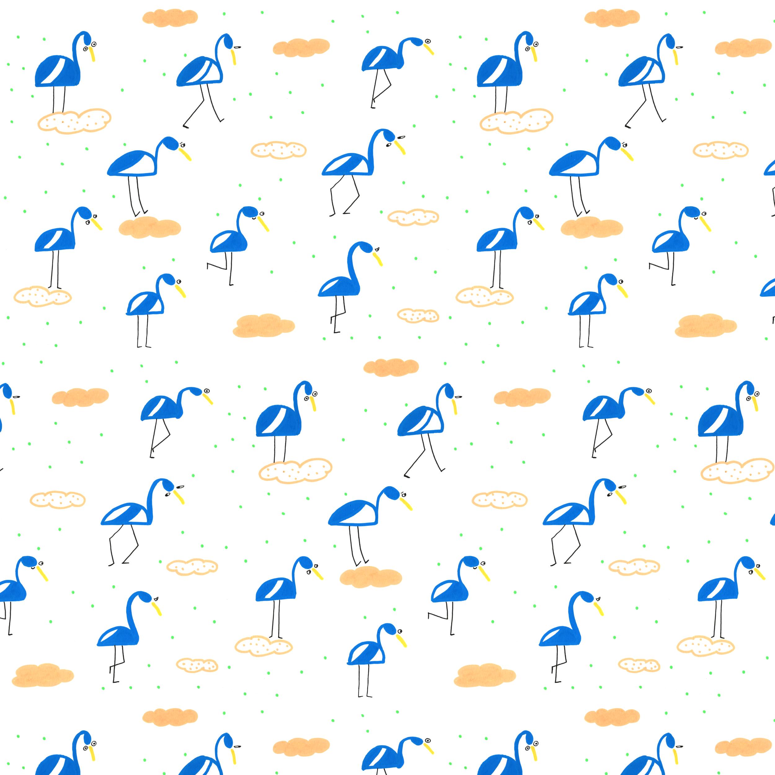 65x65 blue flamingos.png