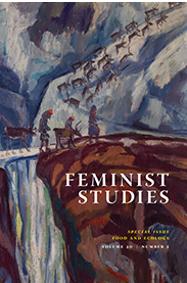 """""""The Anvil""""  (short story).  Feminist Studies."""