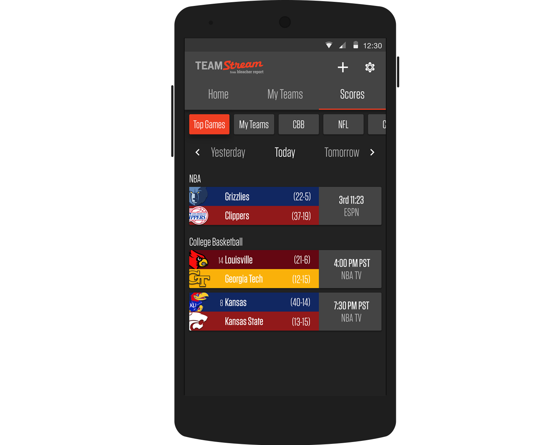 Team Stream Android