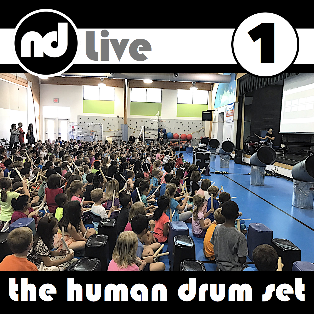 First time? In 3,000 seconds, create  The Human Drum Set ! Experience drumming through money, addition, multiplication, division, fractions, probability, ratios, algebra, & more. Experience math through beat, rhythm, timbre, dynamics, tempo, & form. K-6