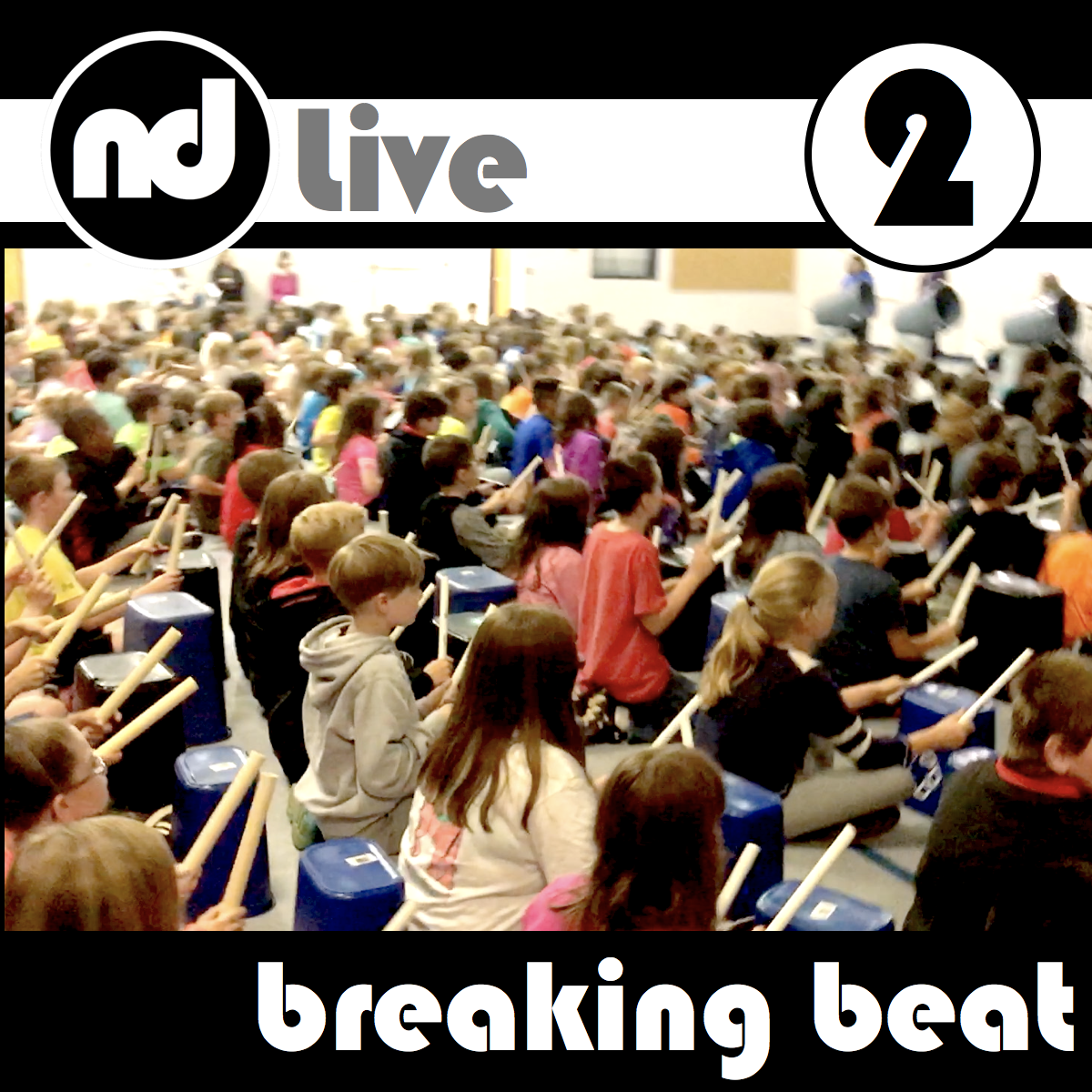 Ready for Part 2? Ready for the next level? During part 2,  Breaking Beat , students experience fractions on a deeper level and discover how breaking beat (rhythm) and breaking parts (fractions) are connected to reading. How many eighths in a half? How many sixteenths in a quarter? Get ready to drum Math-E-ma-tics. K-6