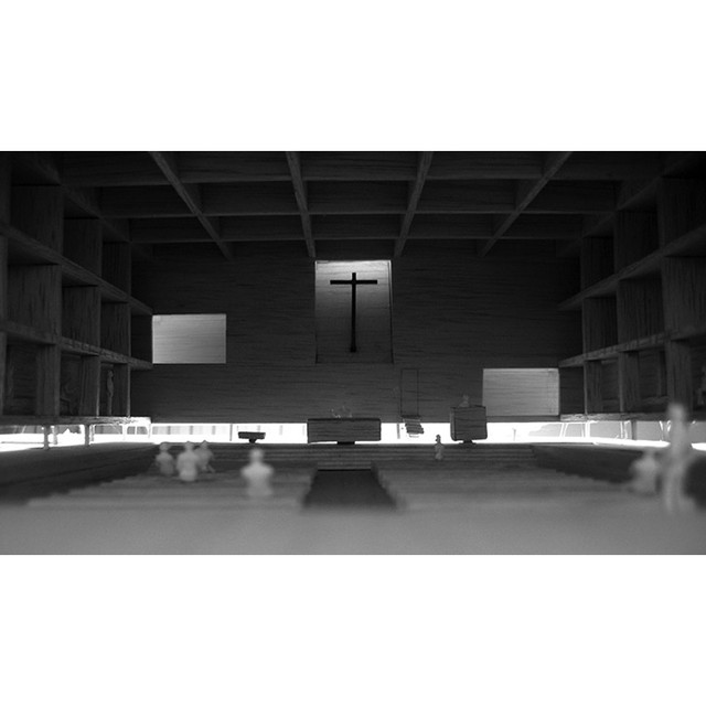 #church in #Andalucia #project #cordoba #jesusaparicio #light #architecture #design #luz #diseño #arquitectura #model #concept