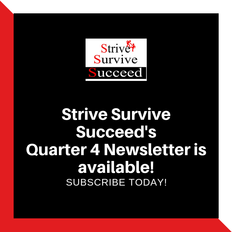 Check out our quarterly newsletter for October - December 2018. Click  here .