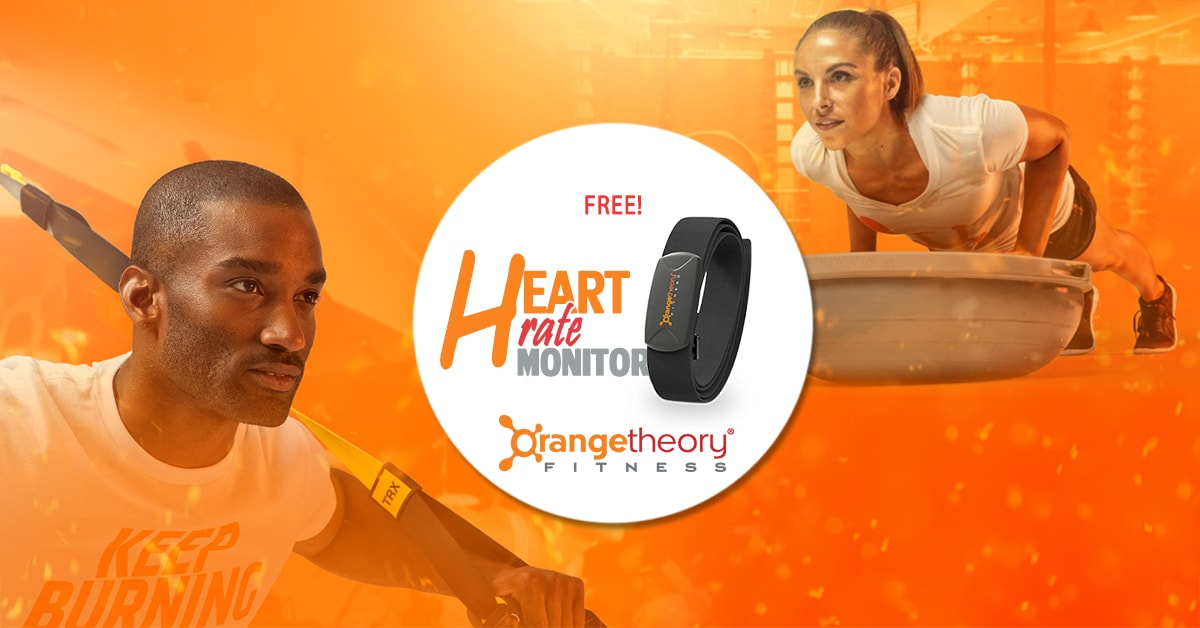 Orangetheory fitness free heart rate monitor at Pointe-Claire