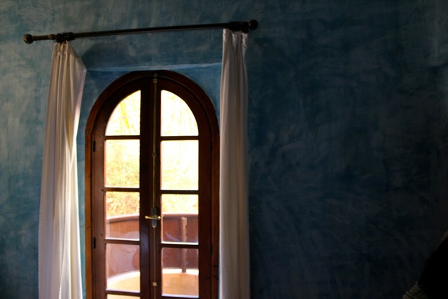 The door tomy balcony.
