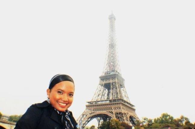 Paris circa 2009. First-timer in Europe!