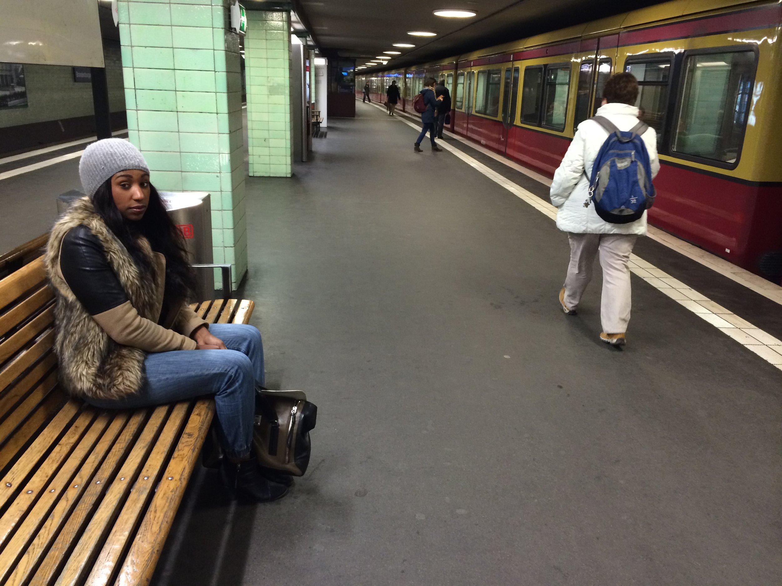 It was adventure getting around the city of Berlin by Metro!