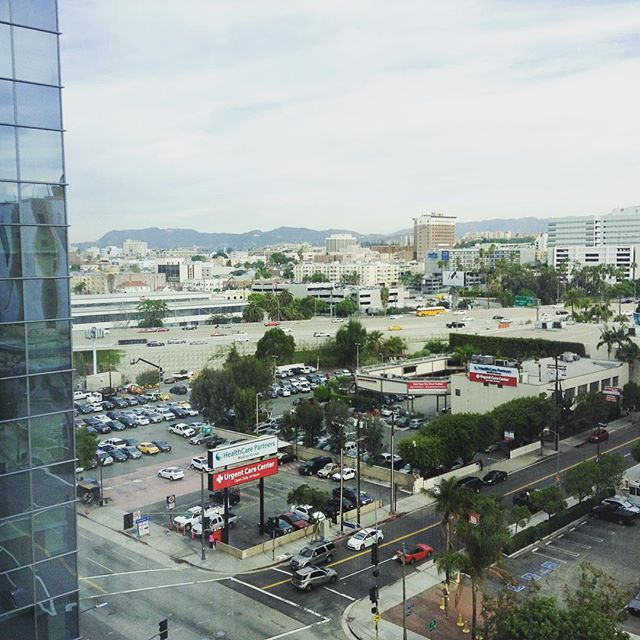 View from hotel 1 #HFES2015 #LA