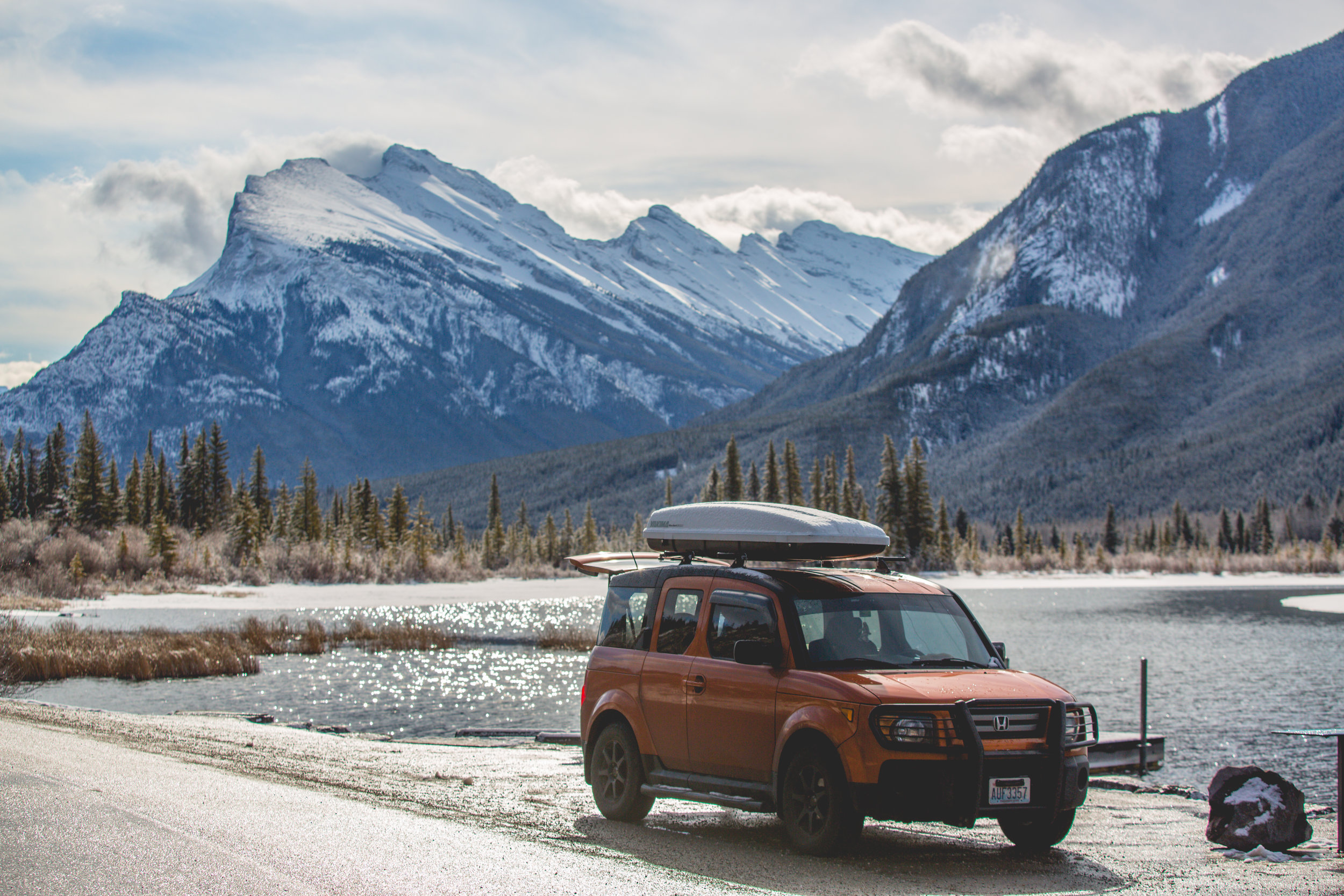 ryan villasanti canada road trip icefields parkway