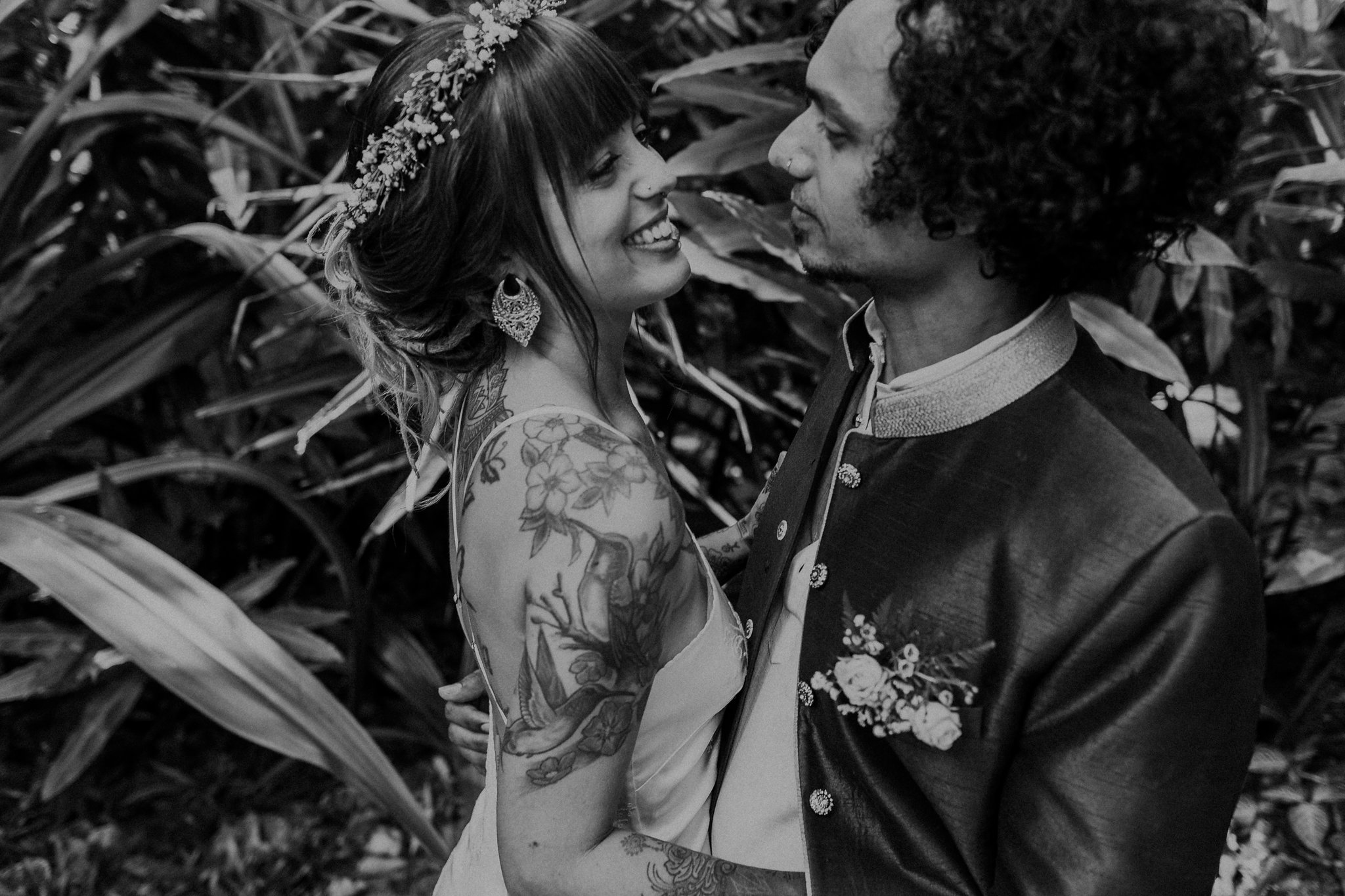 Dani & Bruno - We couldn't have had any better photographer than Laura from Full Hearts.My husband and I first saw Laura's work on her website and immediately fell in love with her candid style shots. We live in Sydney, however our wedding was in the Daintree in Queensland, and Laura was extremely easy to liaise with to organise her travel.She was brilliant at directing us with some portrait shots as well as capturing all of the special moments without us realising she was even snapping away.The photographs are beautiful and tell the story of our wedding day.