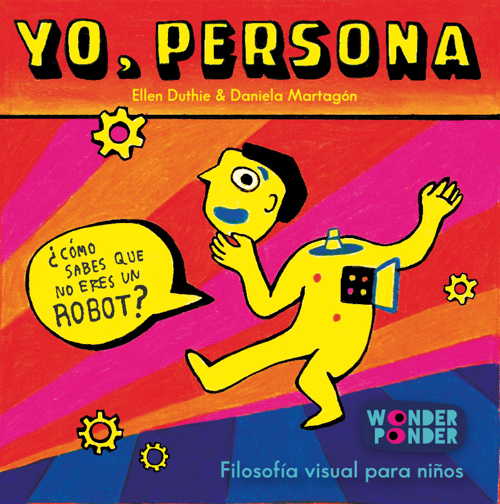 Cubierta de  Yo, persona, a la venta a partir del junio de 2015.