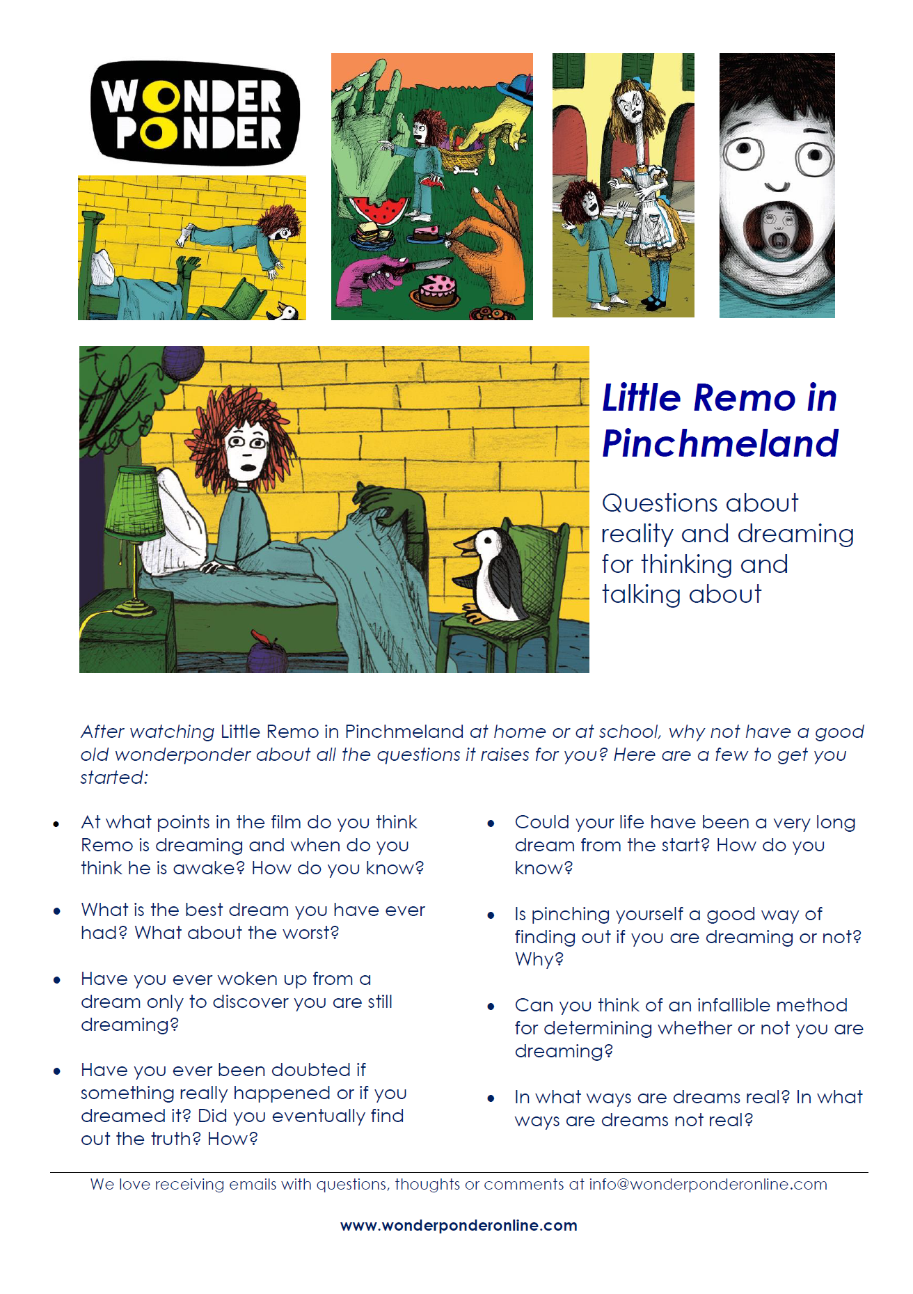 Little Remo Questions Sheet cover.png