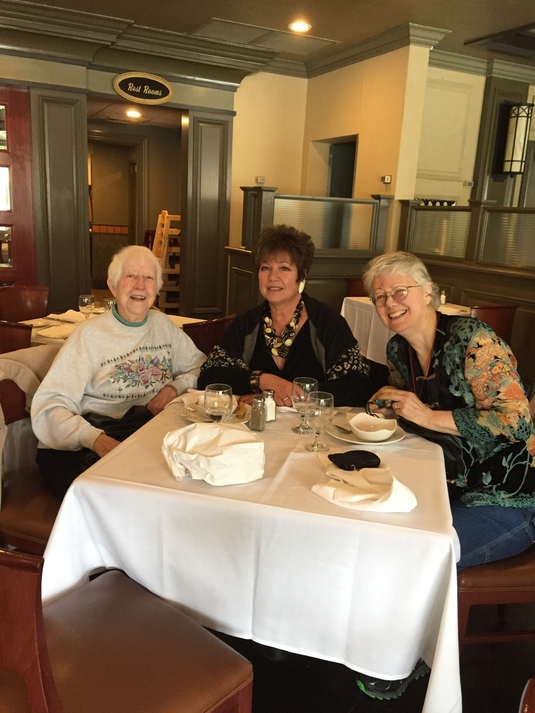 Shown here is Dot Kenna along with Nancy Strini and Margaret Flanagan. Dot is the oldest living member of the MCA.