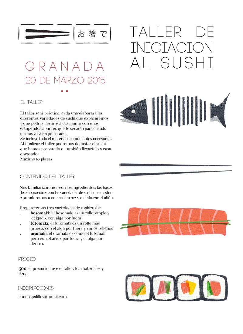 taller iniciacion al sushi en granada