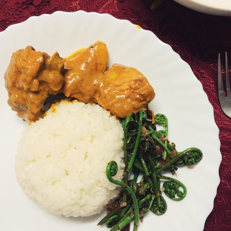 sarawak  chicken curry