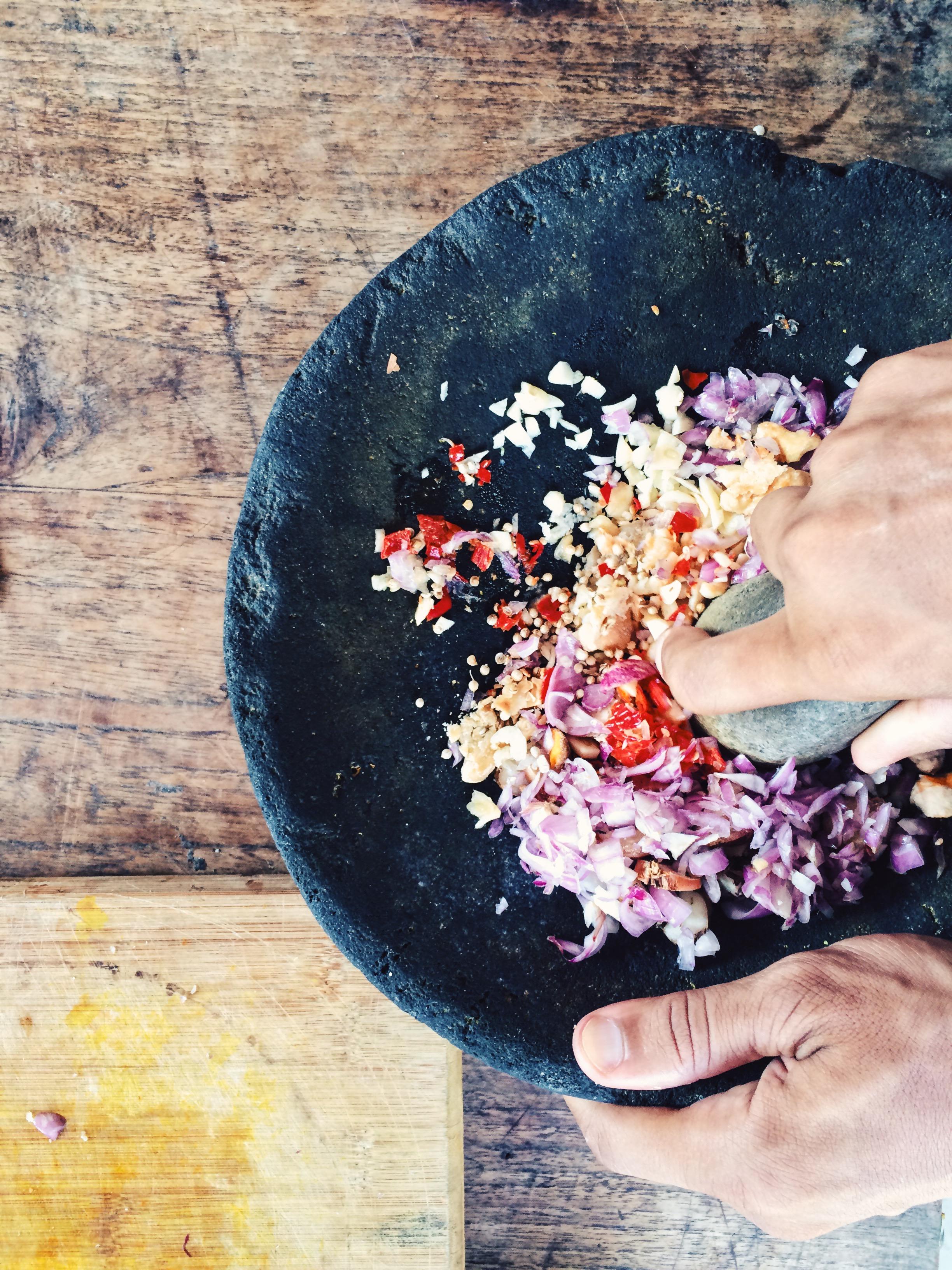 Gede, mezcla de especias balinesa
