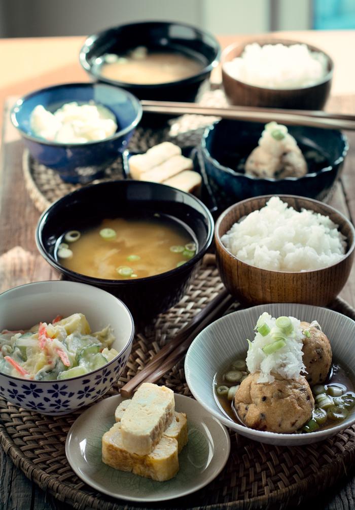 menú japonés