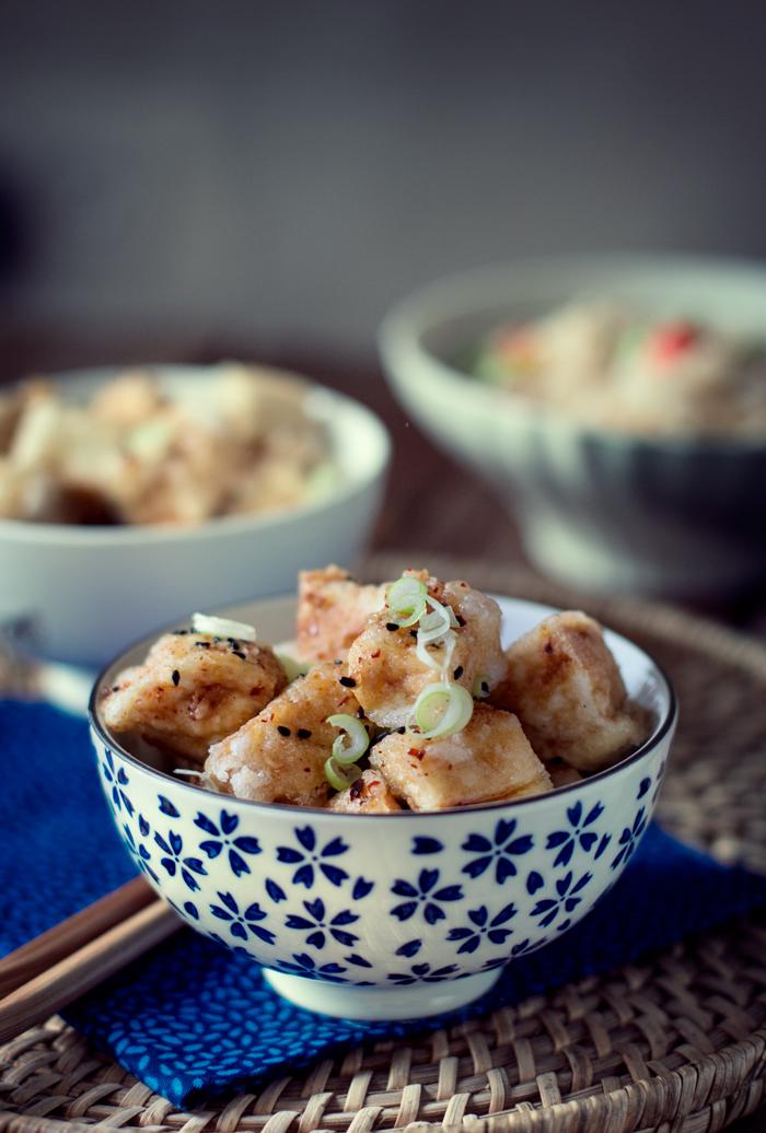 hot and sweet tofu