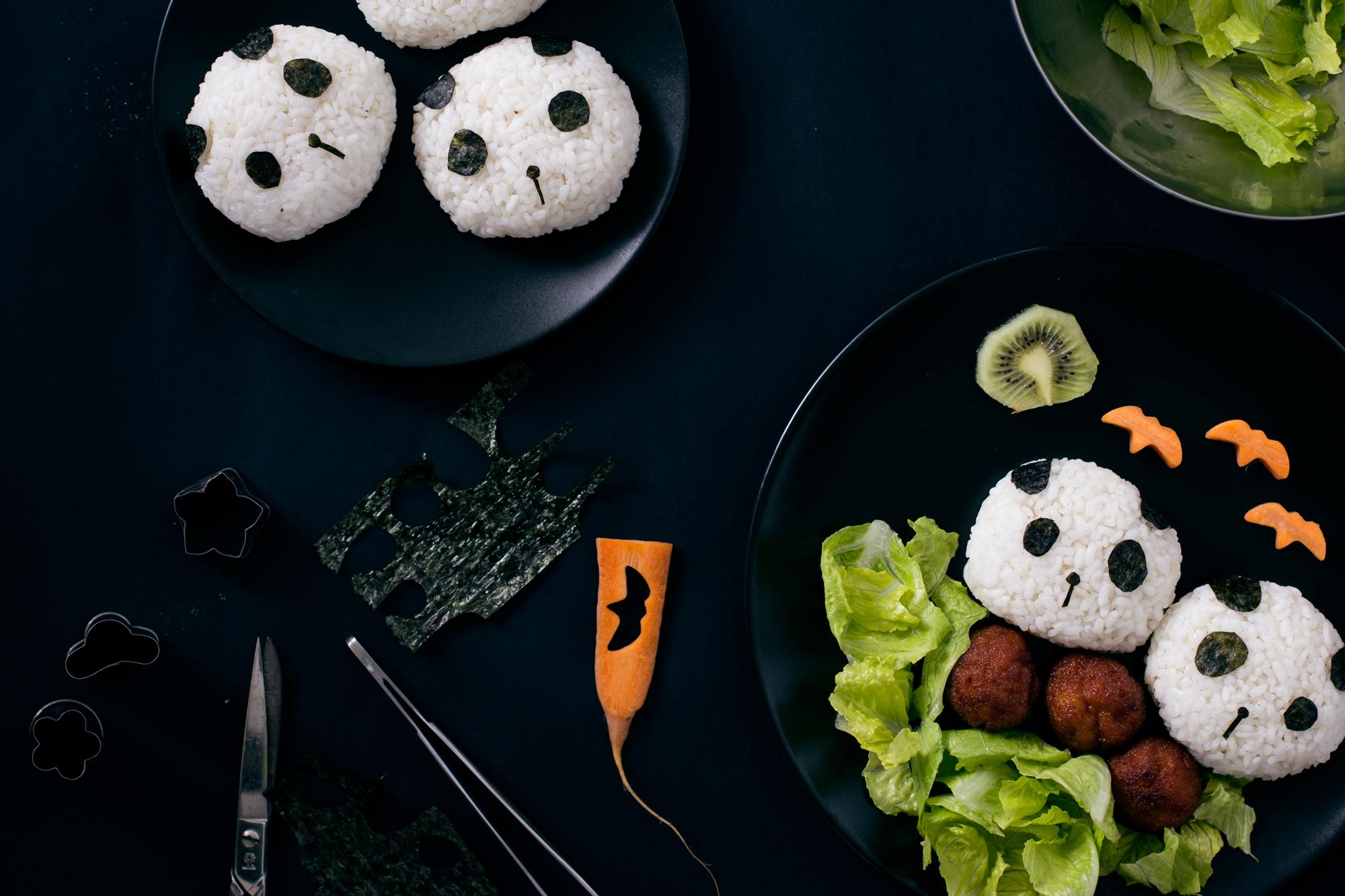 pandas onigiri