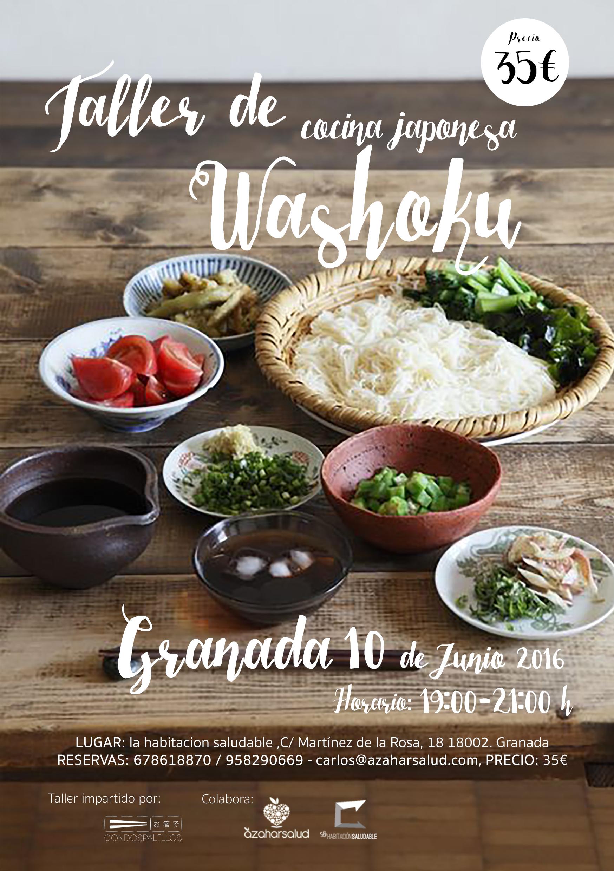 Taller de cocina japonesa tradicional en granada