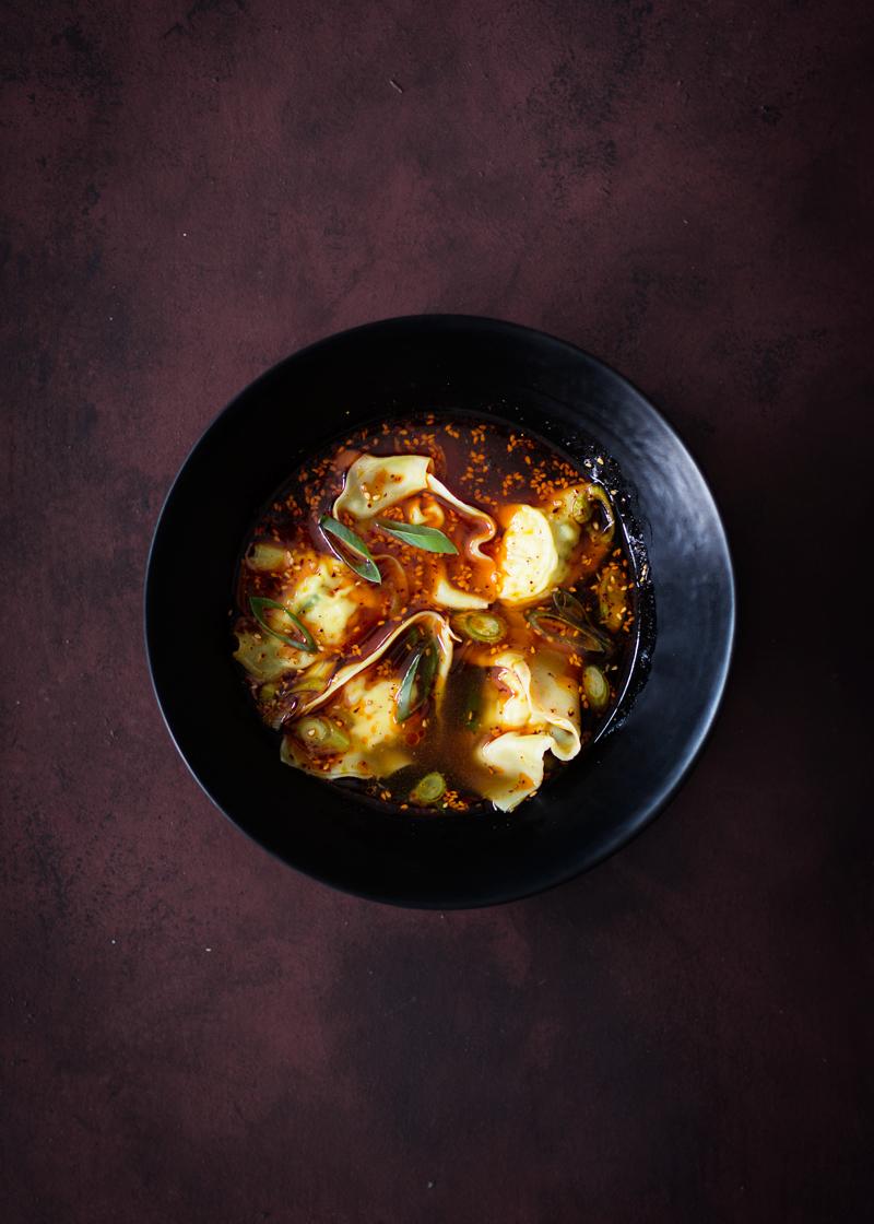 wonton soup spicy