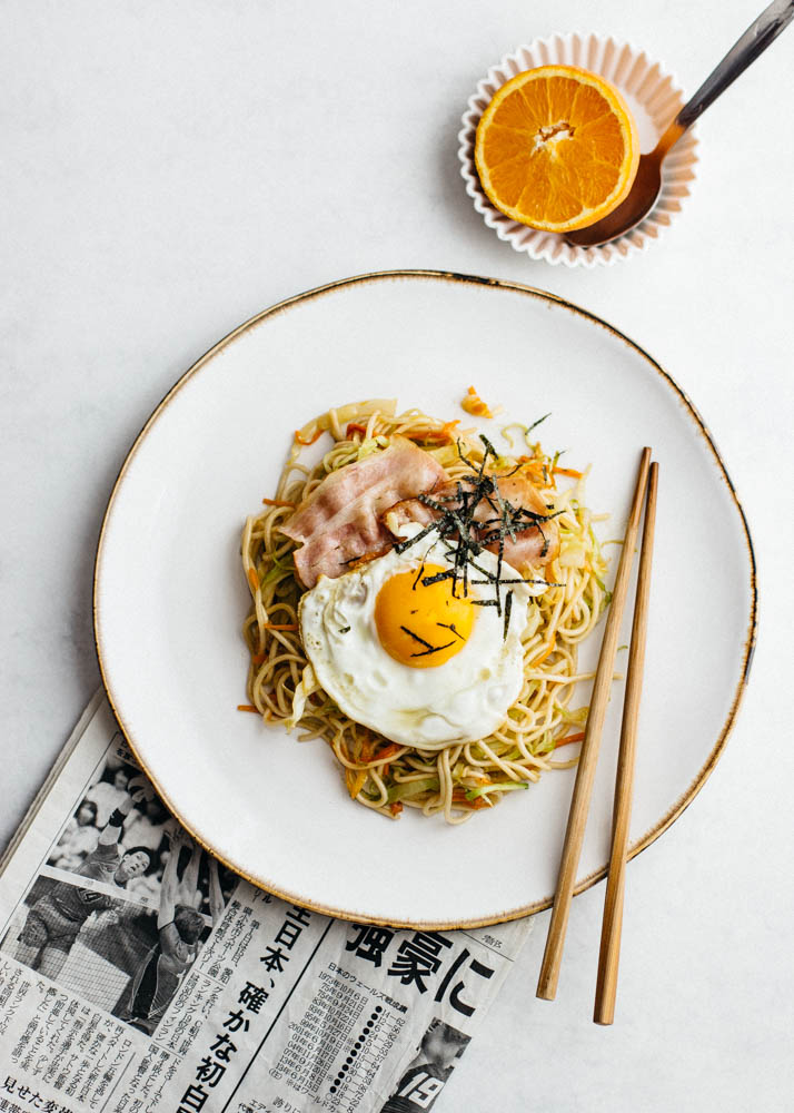 breakfast yakisoba