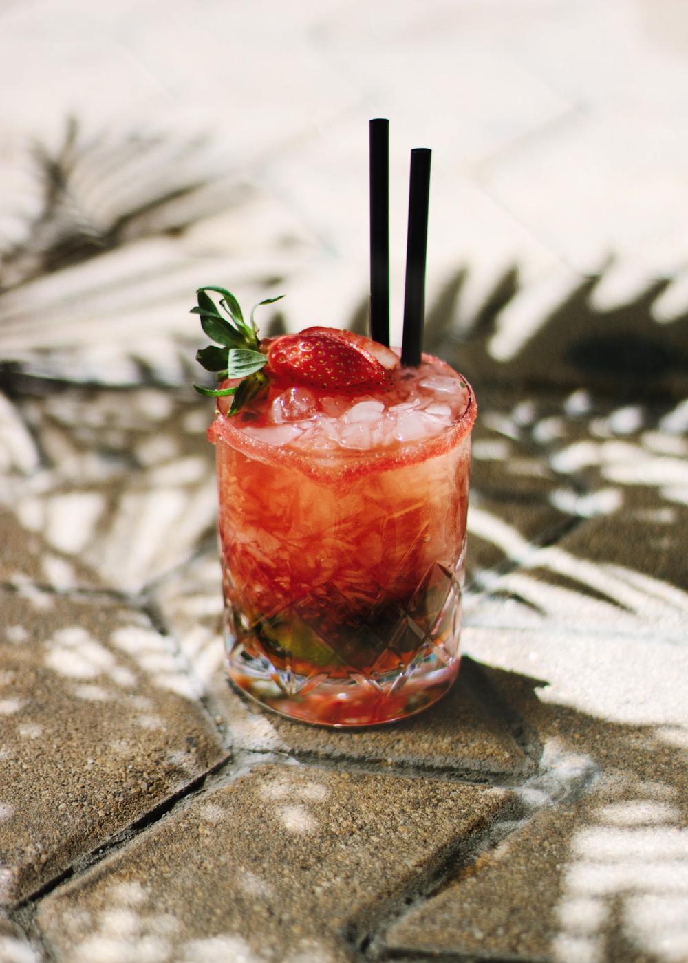 strawberry tequila