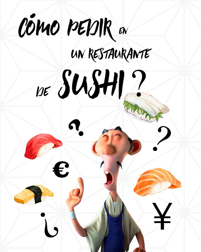 cómo pedir en un restaurante de sushi