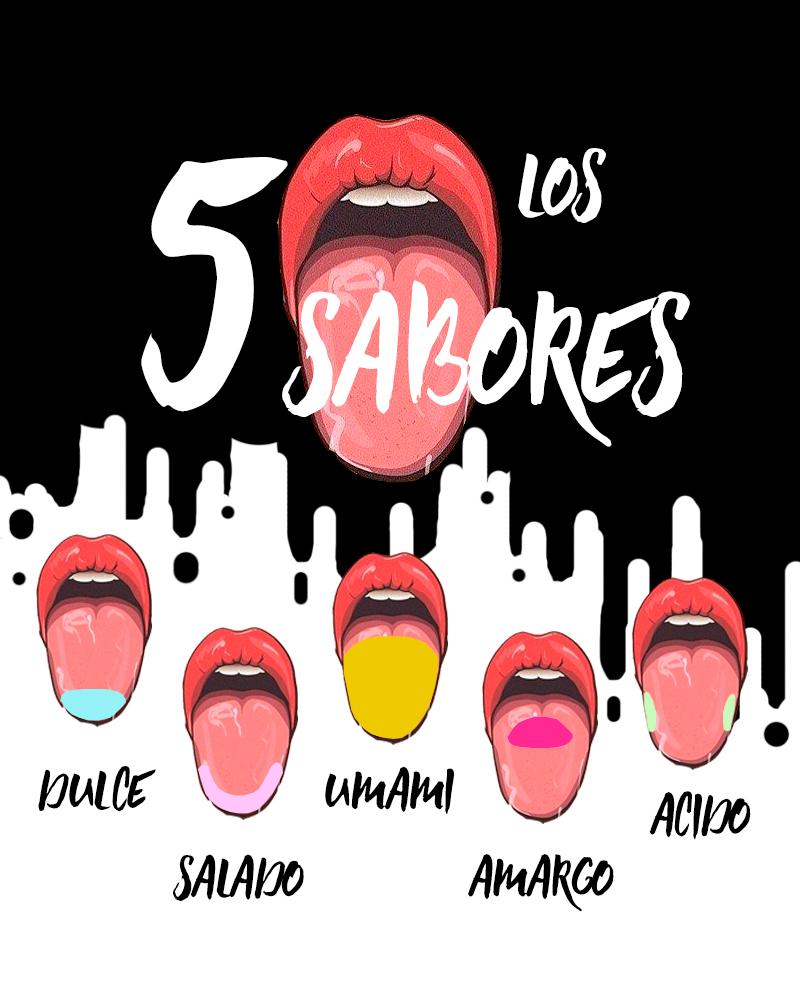 LOS CINCO SABORES