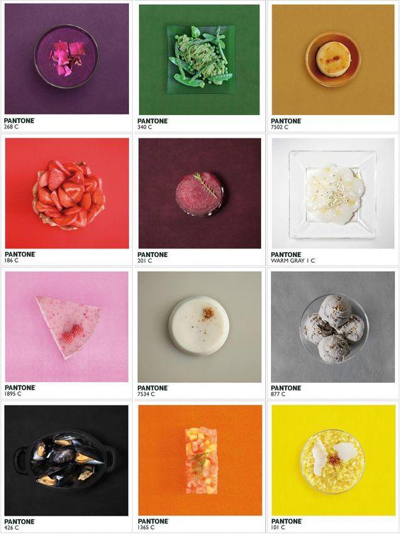 el poder de los cinco colores en la comida