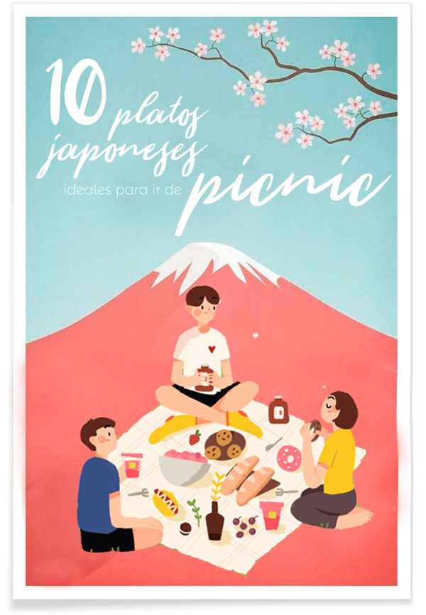 10 platos japoneses ideales para ir de picnic