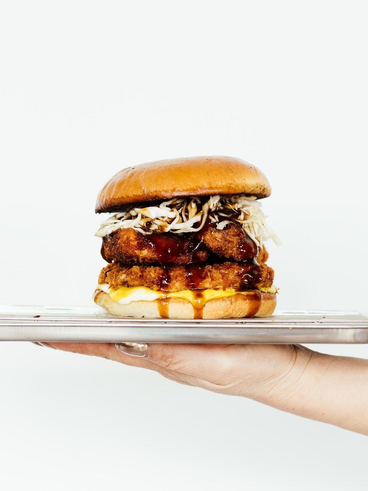 tonkatsu burger